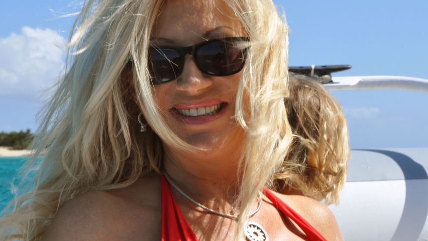 Carmen Geiss im Urlaub: Panik vor der Beulen-Pest!