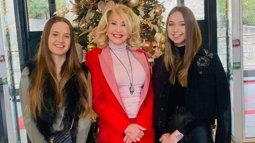 Carmen Geiss mit ihren Töchtern Davina und Shania
