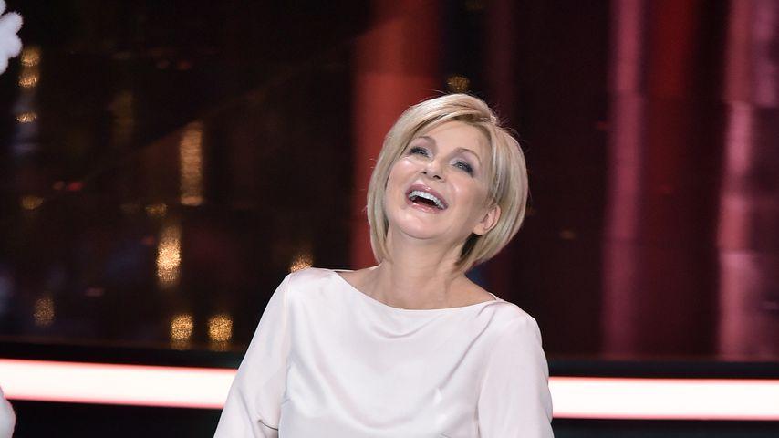 "Moderatorin Carmen Nebel bei ""Heiligabend mit Carmen Nebel"""