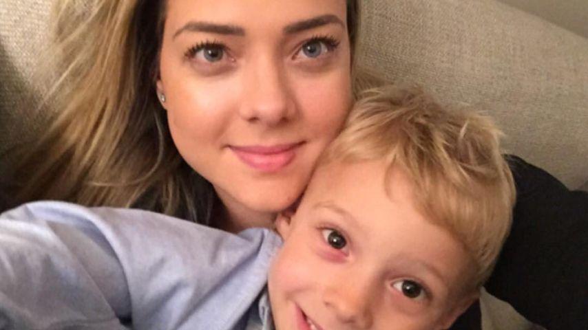 Carolina Dantas und Sohn David