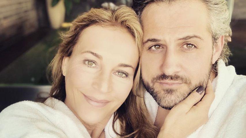 Caroline Beil und ihr Ehemann Philipp Sattler