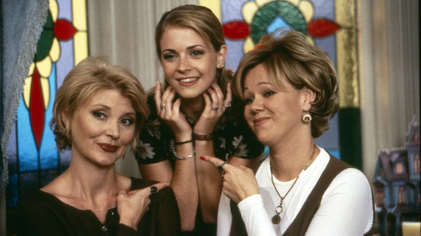 Caroline Rhea, Melissa Joan Hart und Beth Broderick