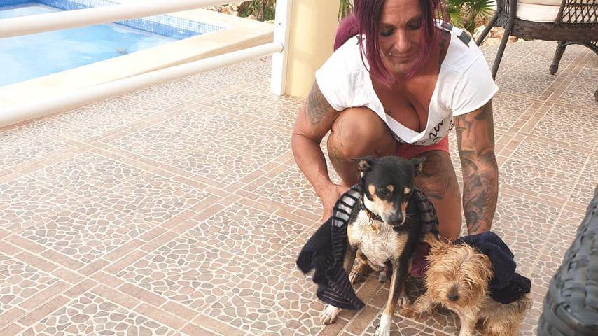 Caroline Robens und ihre Hunde