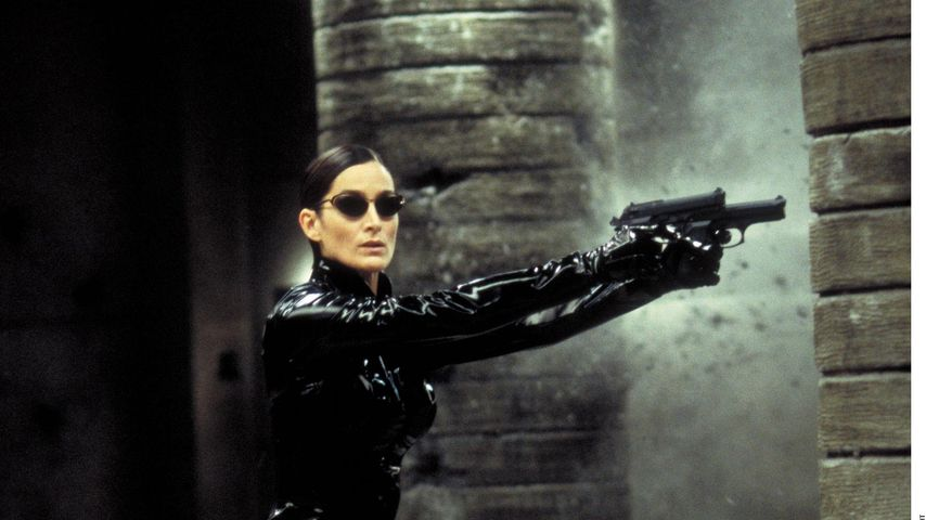 """Carrie-Anne Moss als Trinity in """"Matrix Revolutions"""""""
