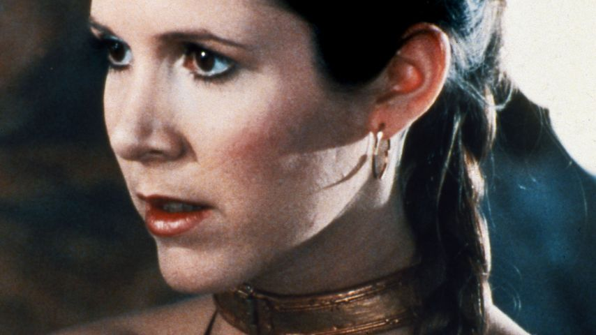 "Carrie Fisher als ""Star Wars""-Prinzessin Leia"