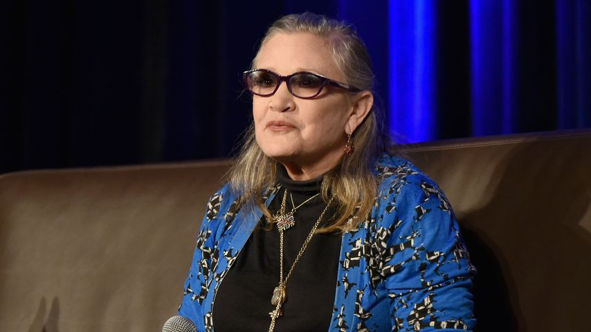 Carrie Fisher bei der Wizard World Comic Con in Chicago 2016
