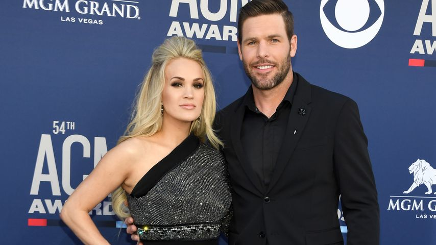 Carrie Underwood und Mike Fisher bei den Academy of Country Music Awards