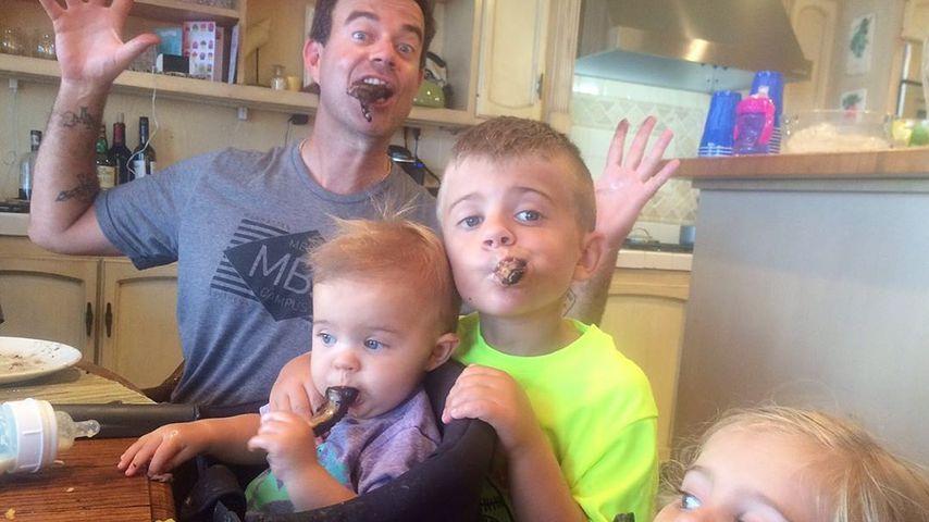 Carson Daly mit seinen Kindern, Juni 2019