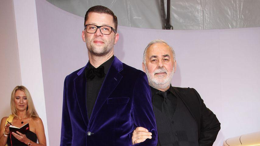 Carsten Thamm-Walz mit Udo Walz, Starfriseur