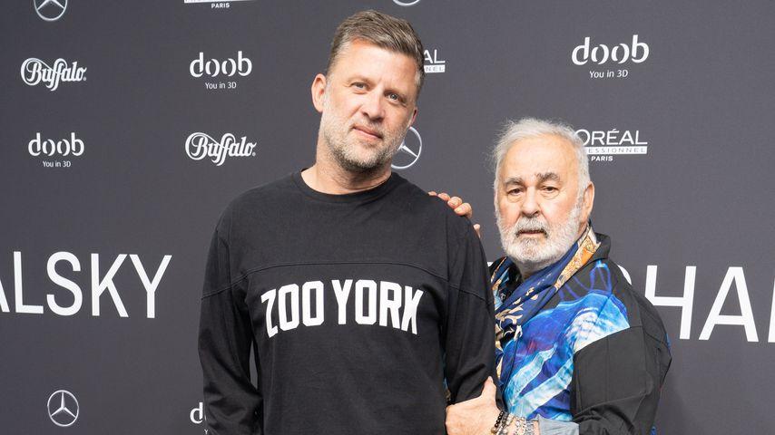 Carsten Thamm-Walz und Udo Walz auf der Berlin Fashion Week 2019