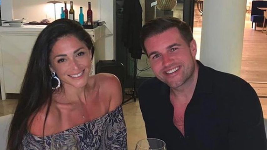 Casey Batchelor und ihr Verlobter Dane Goodson, Februar 2020