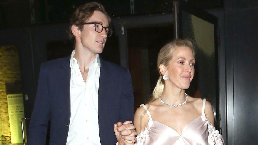 Caspar Jopling und Ellie Goulding in London