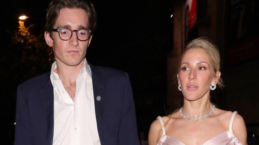 Caspar Jopling und Ellie Goulding, November 2019