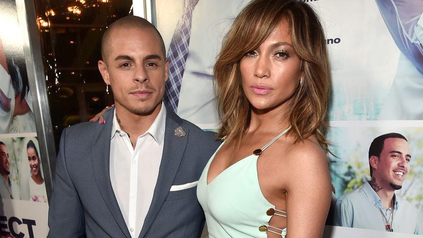 """Casper Smart und Jennifer Lopez bei der """"The Perfect Match""""-Premiere 2016 in Hollywood"""
