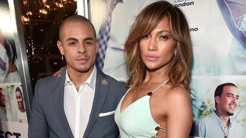 Casper Smart und Jennifer Lopez, März 2016