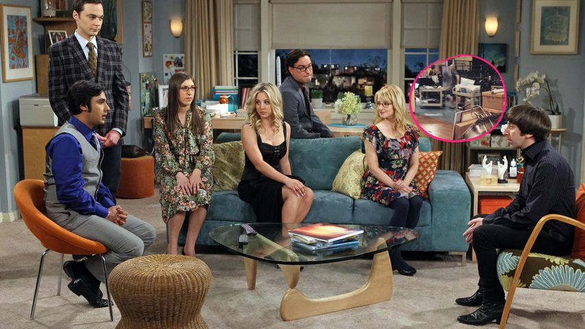 "Total traurig! Hier wird das ""Big Bang Theory""-Set abgebaut"