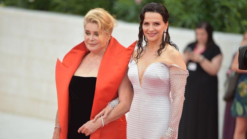 Catherine Deneuve und Juliette Binoche Ende August 2019 in Venedig