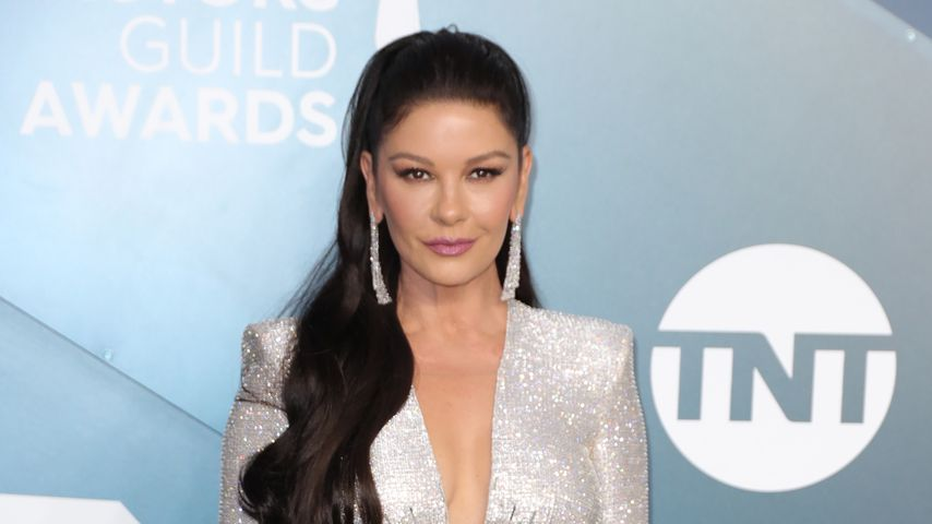 Catherine Zeta-Jones im Januar 2020 in Los Angeles