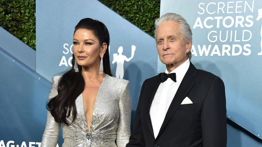 Catherine Zeta-Jones und Michael Douglas, Januar 2020