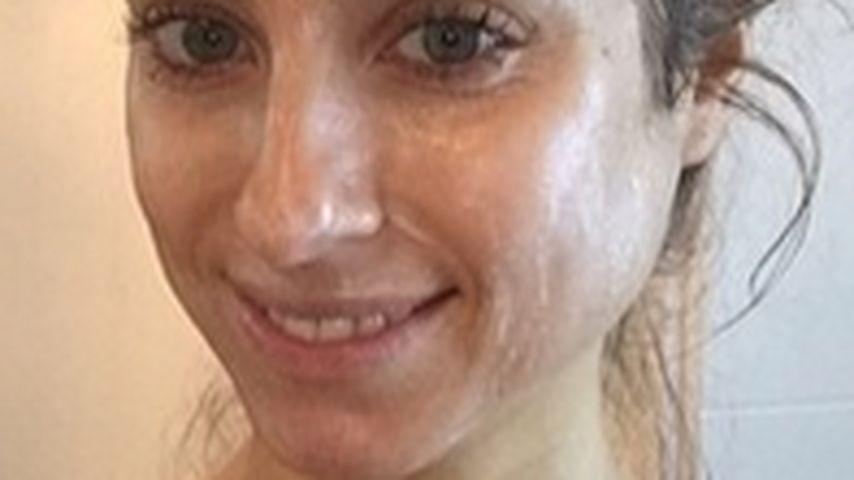 Schlammig! Cathy Fischer zeigt ihr Beauty-Ritual