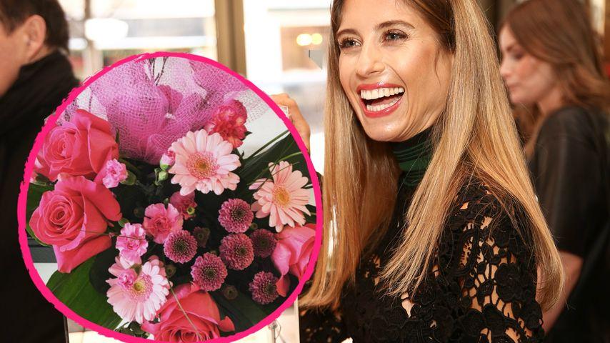 Flower-Power für Cathy Hummels: Blumen vorm Valentinstag