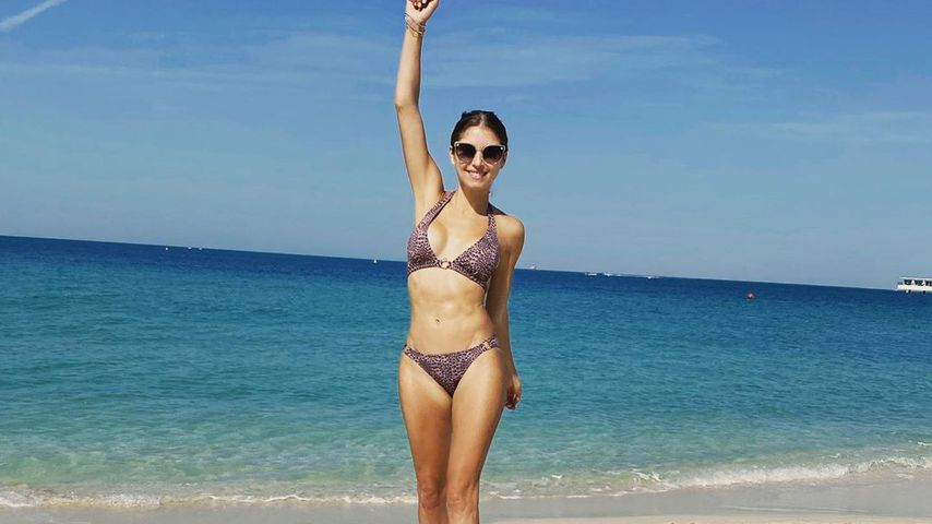 Cathy Hummels offen: So hart arbeitet sie am After-Baby-Body