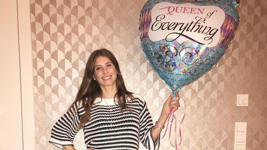 Girlanden & Ballons: So süß feiert Cathy Hummels ihren 30.!