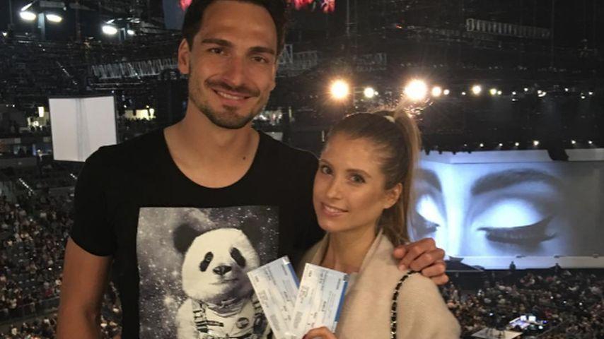 Liebes-Zeit: Mats & Cathy Hummels besuchen Adele-Konzert