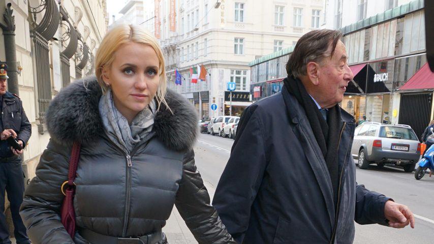 Cathy Lugner und Richard Lugner in Wien