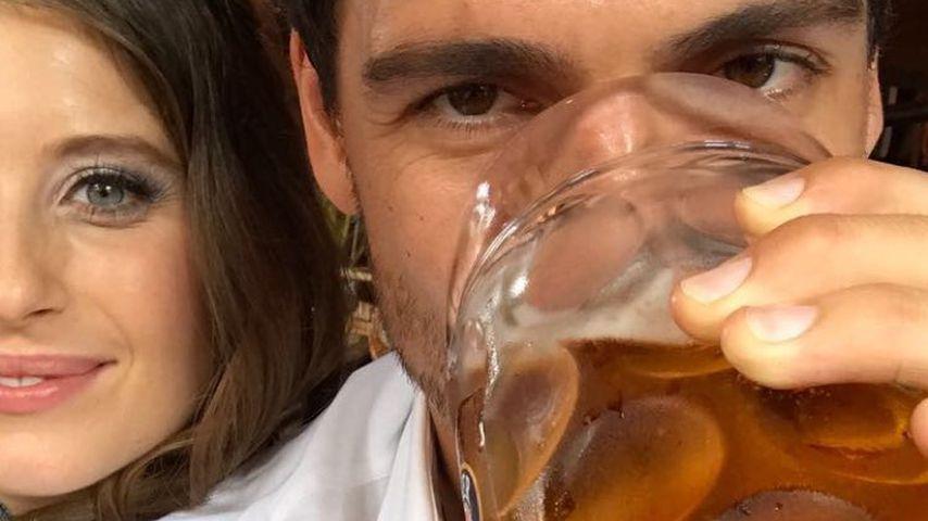 Schwangere Cathy Hummels: Mit Mass Bier auf der Wiesn?