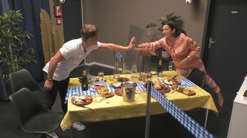 "Cedric Beidinger und Claudia Obert bei ""Big Brother"""