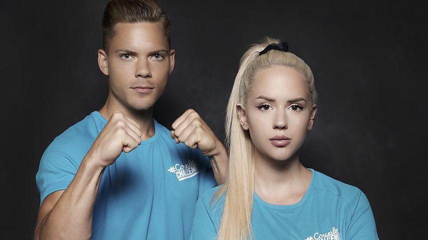 """Cedric Beidinger und Gina Beckmann, """"#CoupleChallenge""""-Kandidaten 2021"""