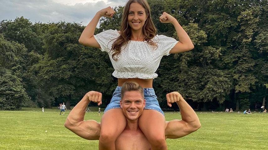 Cedric Beidinger und seine Schwester Kimberley