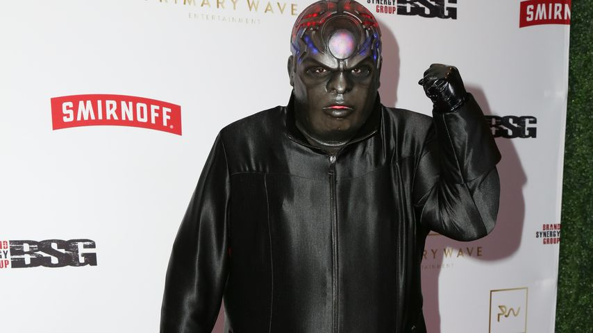 "Cee-Lo Green als ""Gnarly Davidson"" bei der Pre-Grammy-Party 2017"