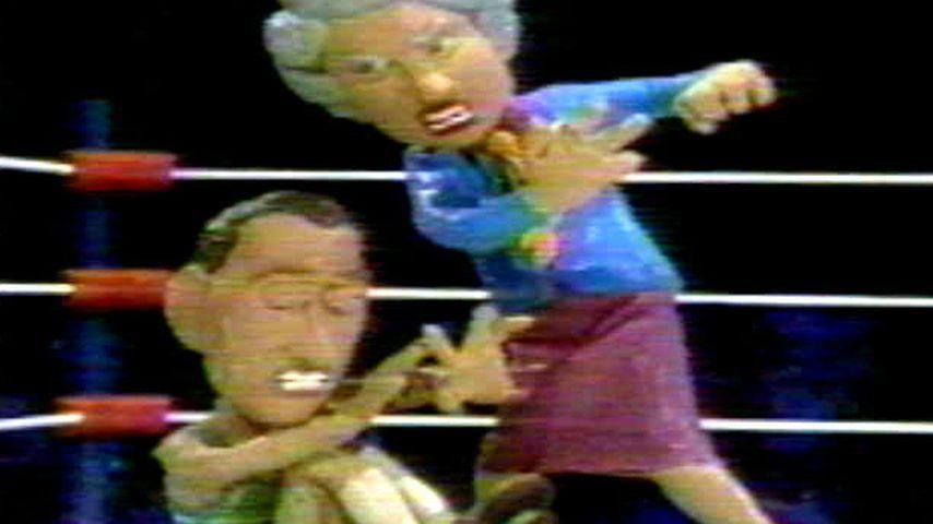 """""""Celebrity Deathmatch"""" mit Prinz Charles und der Queen"""
