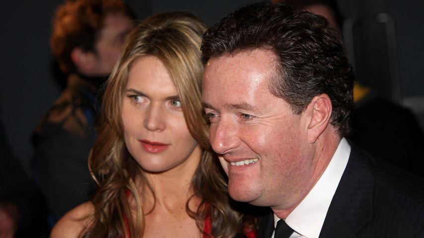 Celia Walden und Piers Morgan in London