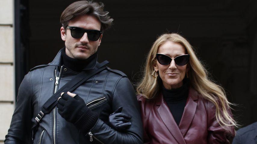 Céline Dion (r.) mit Pepe Muñoz in Paris im Januar 2019