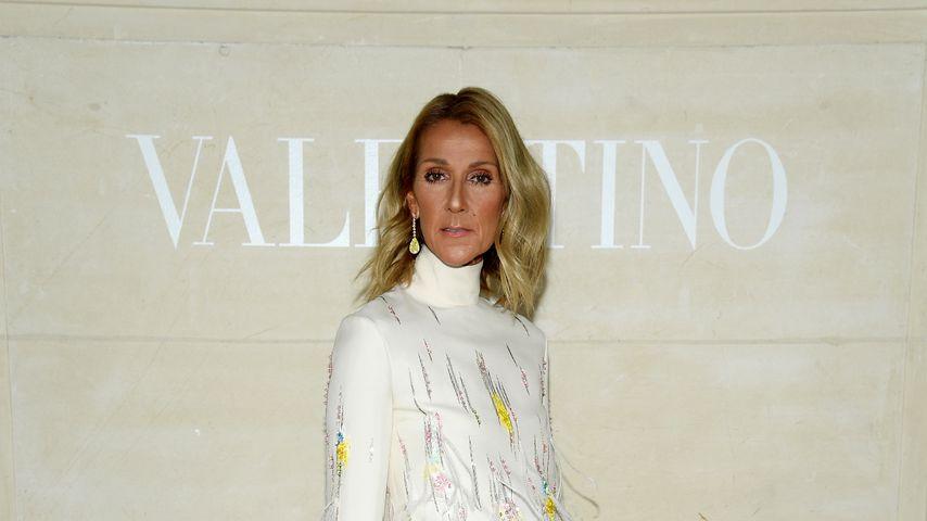 Celine Dion während der Pariser Fashion Week, September 2019