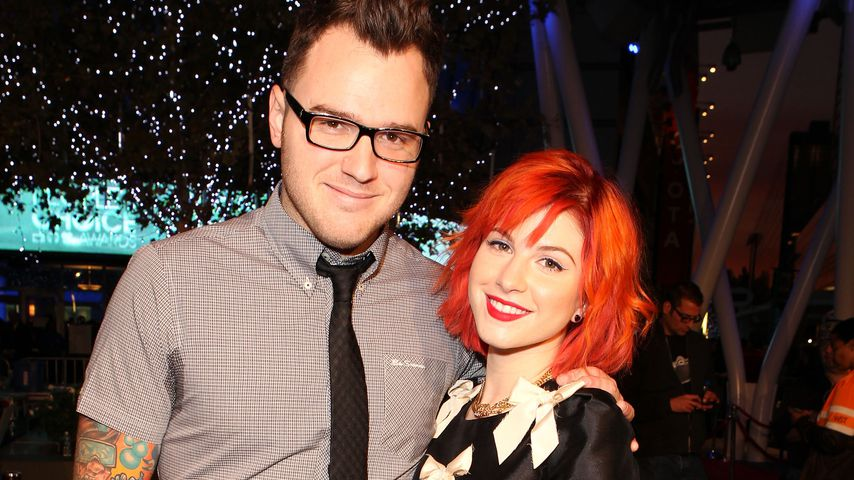 Chad Gilbert und Hayley Williams