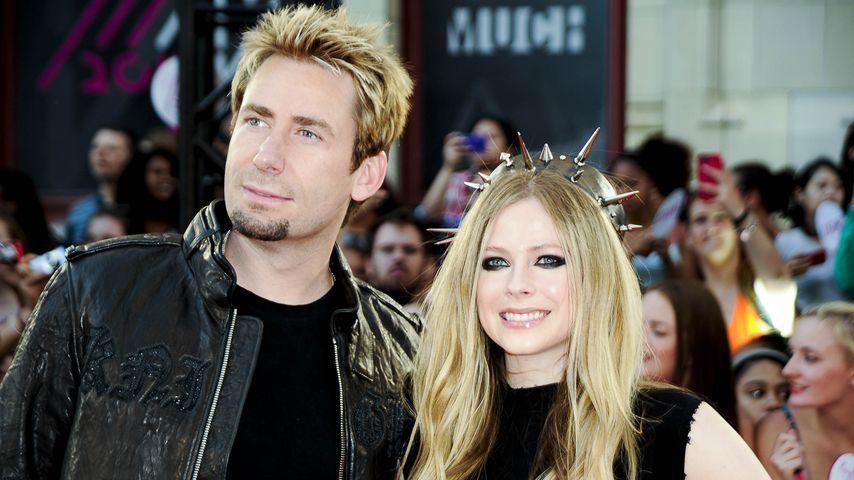 Chad Kroeger und Avril Lavigne bei den MuchMusiv Video Awards 2013