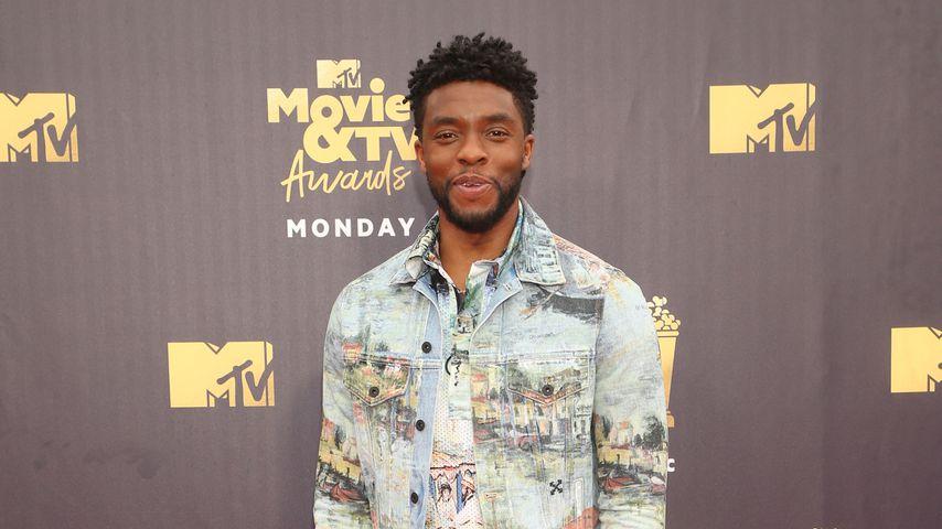 """Chadwick Boseman, """"Black Panther""""-Hauptdarsteller, in Santa Monica"""