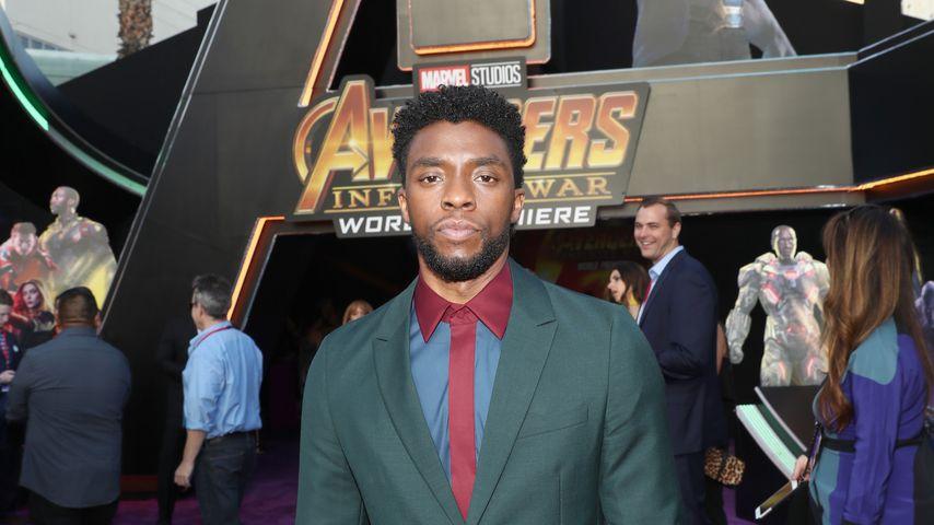 """Chadwick Boseman, """"Black Panther""""-Darsteller"""