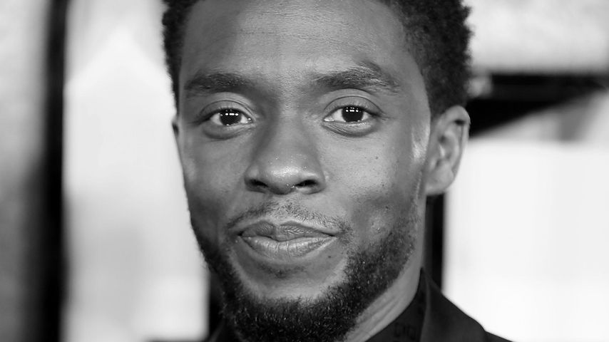 """Chadwick Boseman bei der Premiere von """"Black Panther"""" in London"""