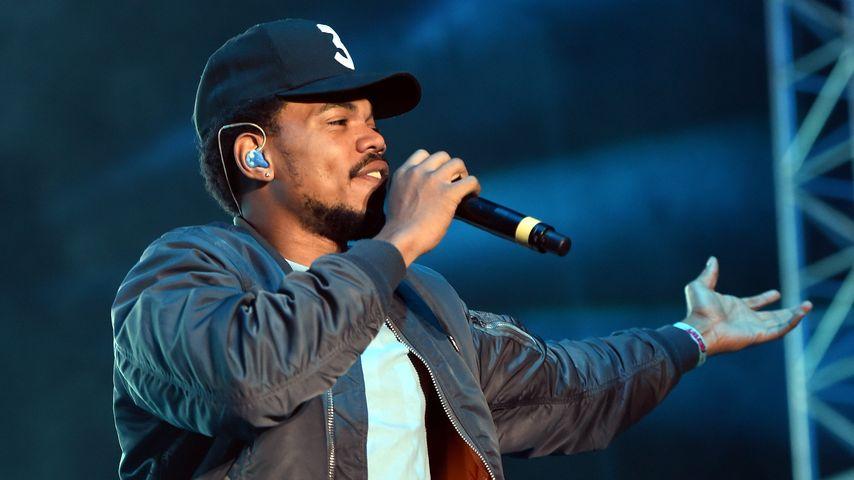 Chance the Rapper auf einem Konzert in Los Angeles