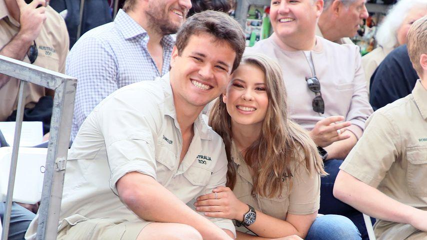 Chandler Powell und Bindi Irwin im April 2018 in Hollywood