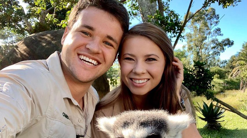 Chandler Powell und Bindi Irwin