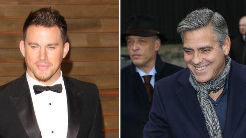 Cool! Channing Tatum dreht mit George Clooney