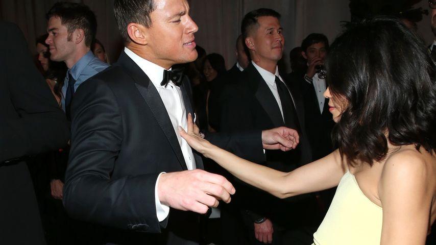 Channing Tatum und Jenna Dewan auf einer Golden Globe Party