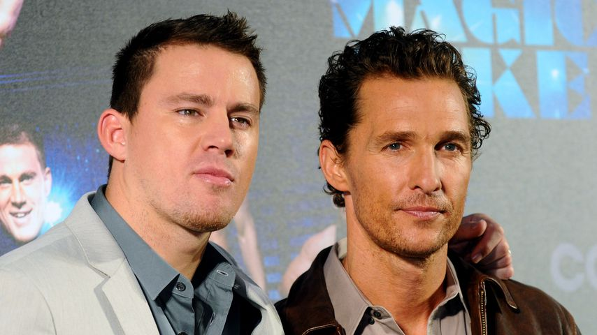 Channing Tatum und Matthew McConaughey in Berlin