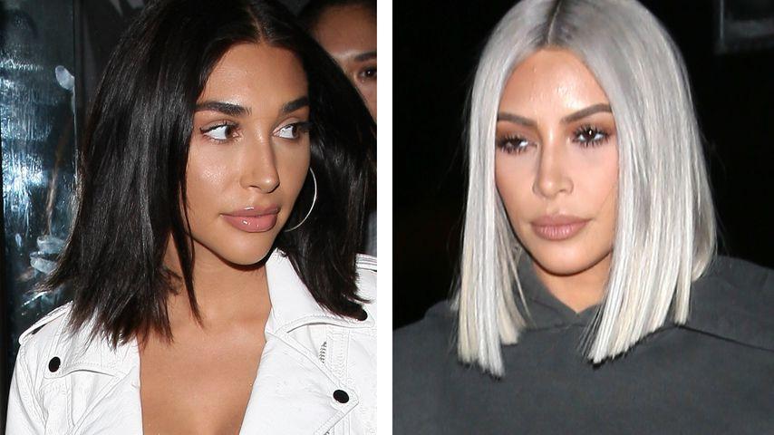Chantel Jeffries und Kim Kardashian